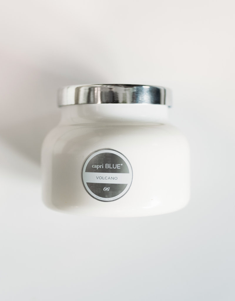 Capri Blue White Volcano Signature Jar Candle - 19 oz