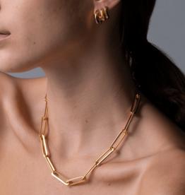 Jenny Bird Stevie Chain Necklace - Gold