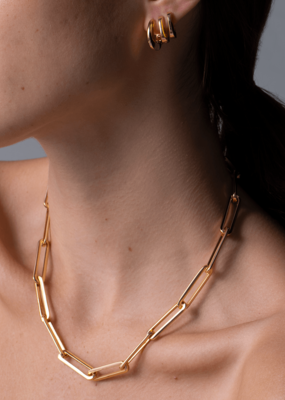 Jenny Bird Stevie Chain Necklace - Gold