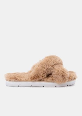 Dolce Vita Pillar Slippers - Nude