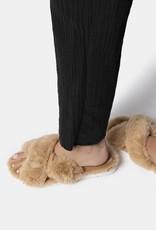 Dolce Vita Pillar Slippers - Nude