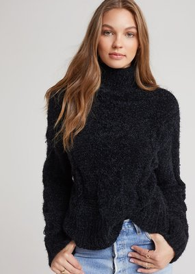 Bella Dahl Cable Knit Turtle Neck Sweater