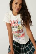 Daydreamer The Clash Collage Reverse Girlfriend Tee
