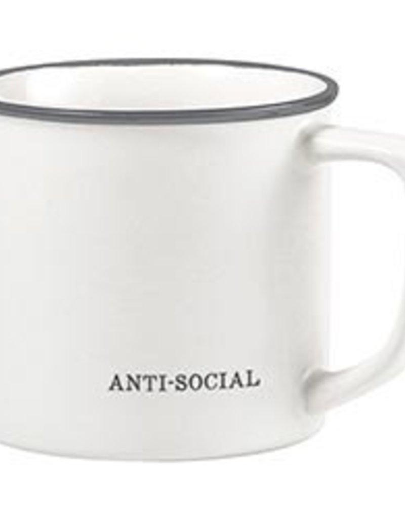 LABEL Anti- Social Coffee Mug