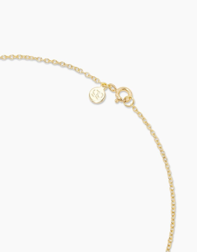 Gorjana Moon Charm Necklace