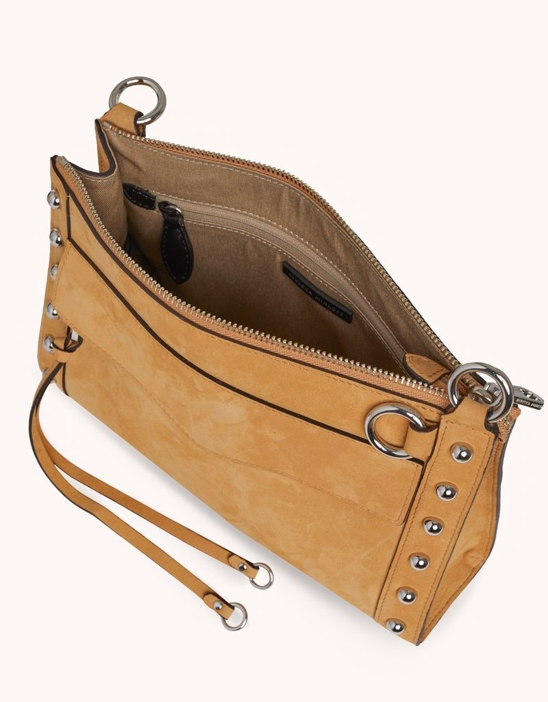 Rebecca Minkoff M.A.B. Crossbody Bag with Studs - Honey