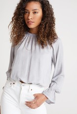 Bella Dahl Raglan Sleeve Elastic Waist Top