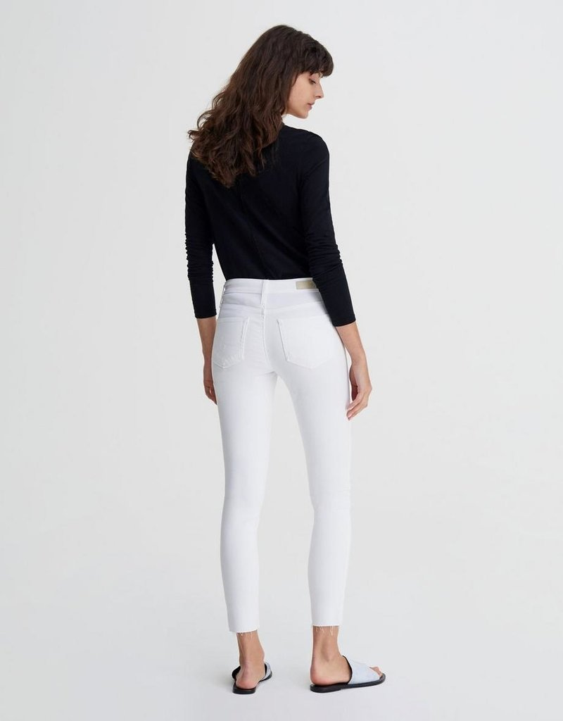 AG Jeans The Farrah Skinny Ankle - Uncharted White