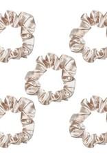 Kitsch Satin Sleep Scrunchies - Leopard