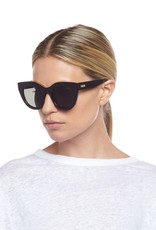 Le Specs Air Heart Sunglasses - Black