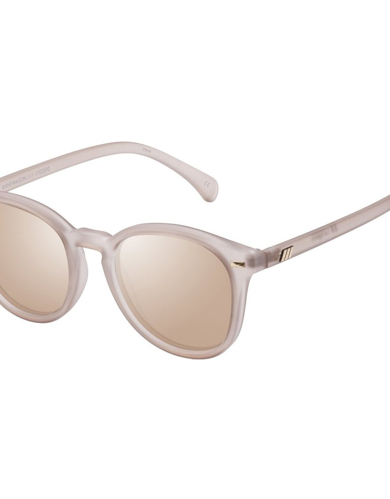 Le Specs Bandwagon Sunglasses - Matte Stone