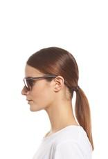 Le Specs Bandwagon Polarized Sunglasses - Matte Tortoise