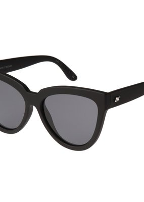 Le Specs Liar Lair Polarized Sunglasses - Black Rubber