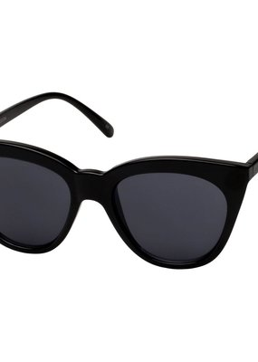 Le Specs Halfmoon Magic Sunglasses - Black