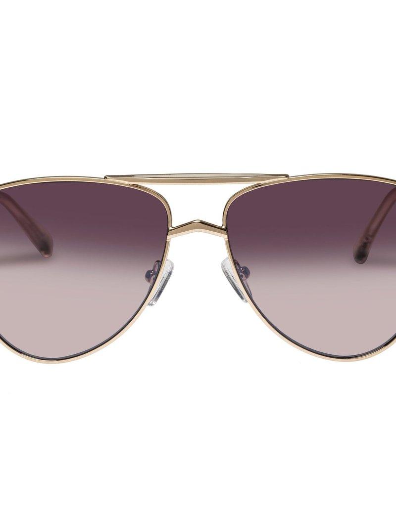 Le Specs High Fangle Sunglasses - Gold