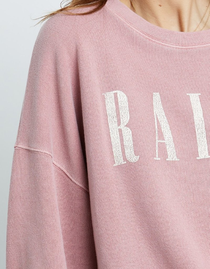 Rails Rails Signature Sweatshirt - Vintage Rose