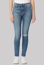 Hudson Barbara High-Rise Super Skinny Ankle Jean - Destructed Padua