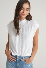 Bella Dahl Cap Sleeve Button Back Blouse