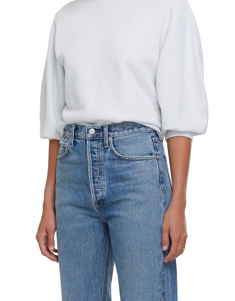 AGOLDE Thora 3/4 Sleeve Sweatshirt