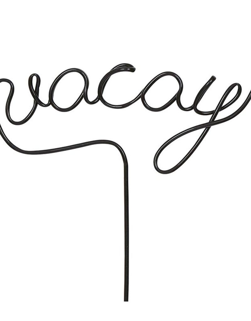 LABEL Word Straw - Vacay