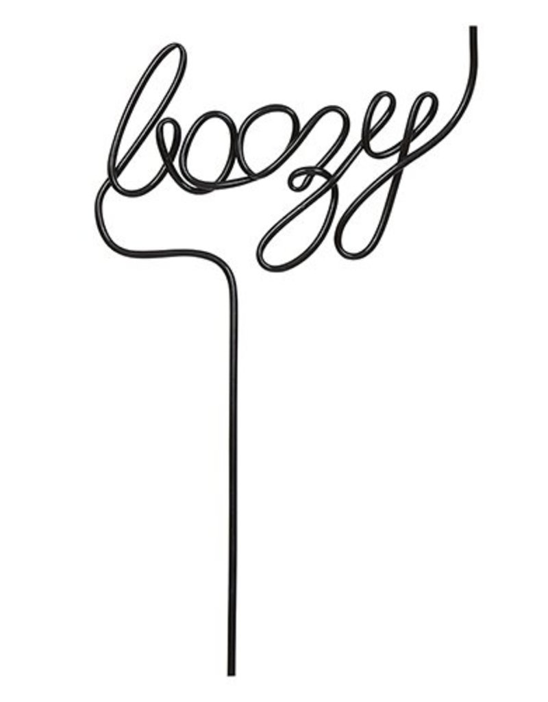 LABEL Word Straw - Boozy