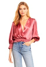 Amanda Uprichard Loralee Silk Top