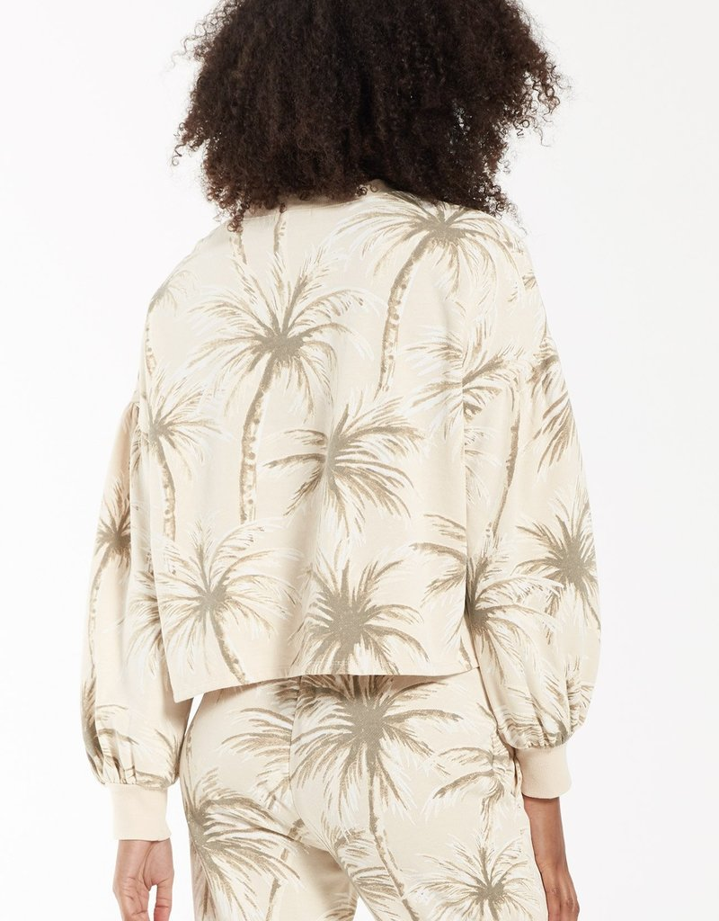 Z Supply Coconut Palm Tempest Pullover