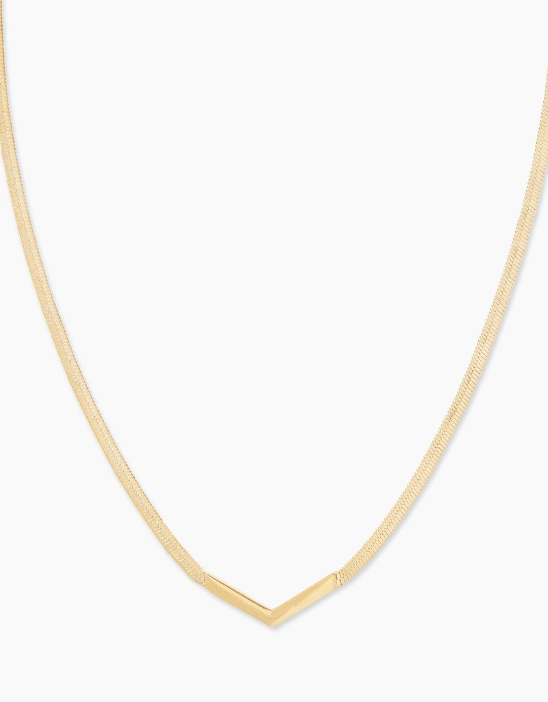 Gorjana Venice Chevron Necklace