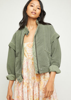 Free People Florence Bomber