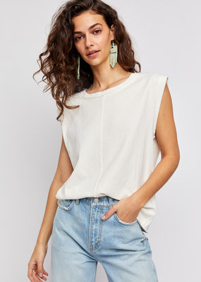 Free People Kasee Muscle Tee - Jasmine