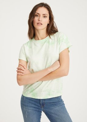Sanctuary The Perfect Tee - Pistachio Tie Dye