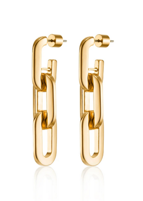 Jenny Bird Toni Drop Earrings - Gold