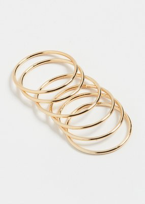 Shashi Classic Ring Set - Gold