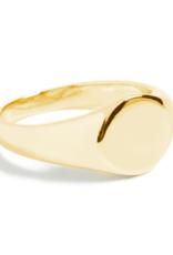 Shashi Signet Ring - Gold