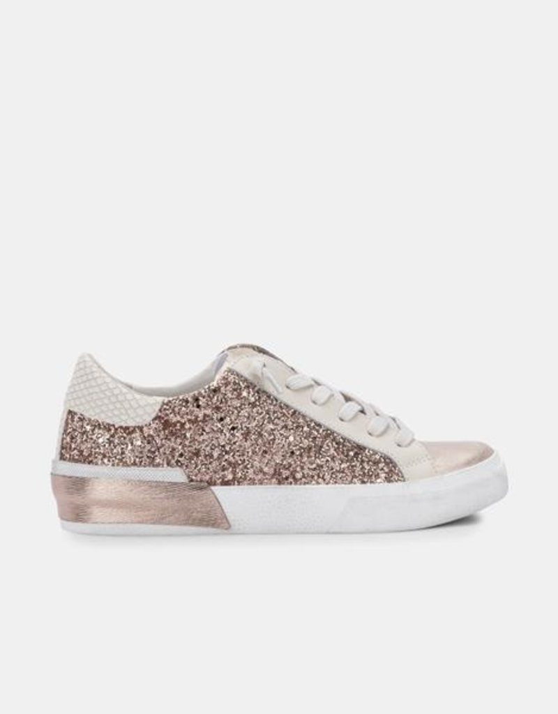 Dolce Vita Zina Sneakers - Rose Gold Glitter