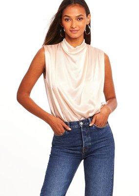 Amanda Uprichard Sleeveless Fabienne Bodysuit