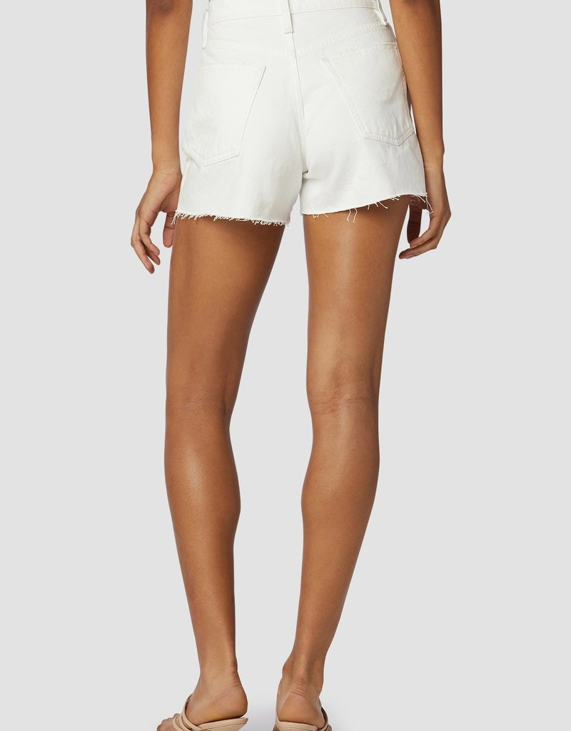 Hudson Lori High-Rise Short - Destructed White