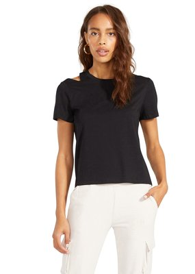 BB Dakota Cut To The Chase Top - Black