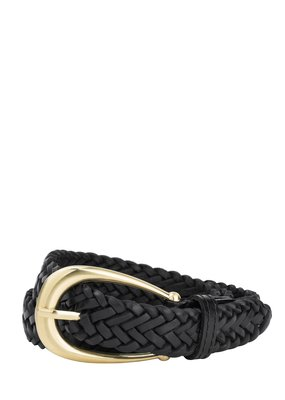 Sancia Annely Woven Belt - Black