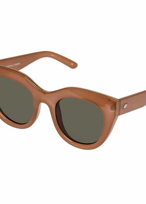 Le Specs Air Heart Sunglasses - Caramel