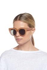 Le Specs Air Heart Sunglasses - Caramel