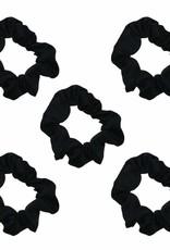 Kitsch Satin Sleep Scrunchies - Black