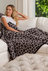 Barefoot Dreams CozyChic Safari Throw Blanket