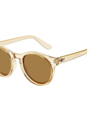 Le Specs Hey Macarena Sunglasses - Blonde Polarized