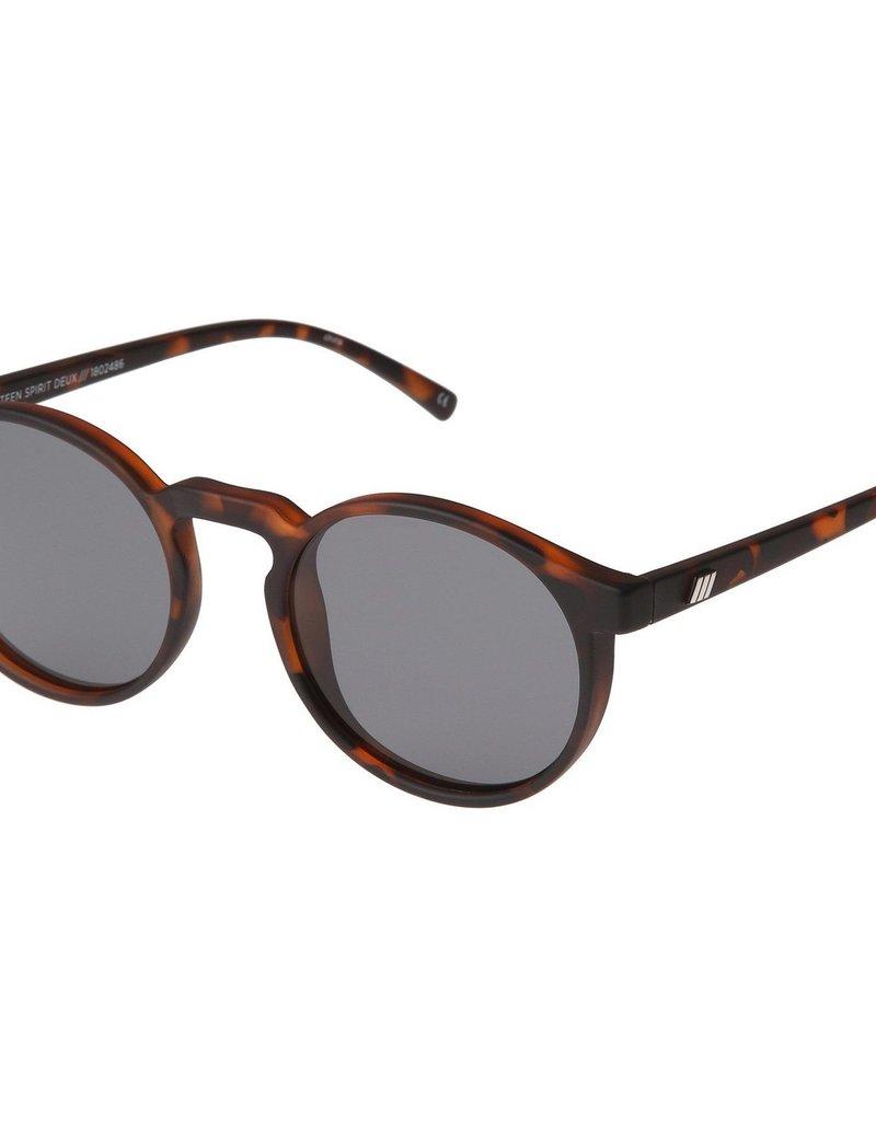 Le Specs Teen Spirit Deux Sunglasses - Matte Tort Polarized