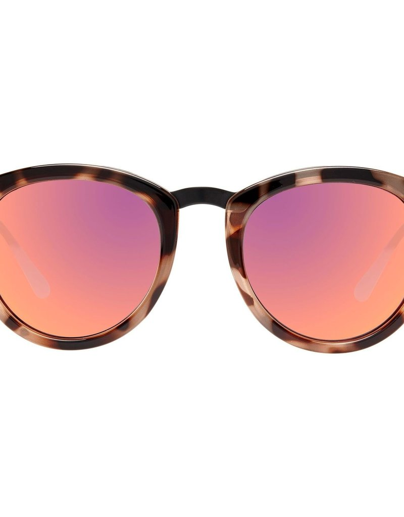 Le Specs No Smirking Sunglasses - Volanic Tort Black Mirror