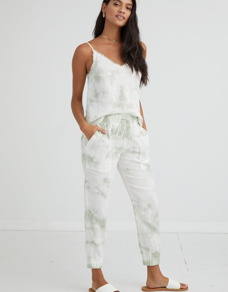 Bella Dahl Pocket Jogger - Mint Tie Dye