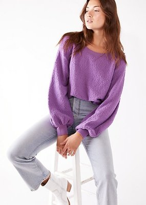 Free People Found My Friend Pullover - Lilac