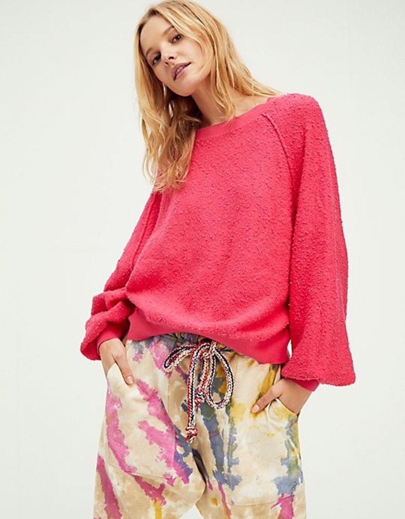Free People Found My Friend Pullover - Rock Candy