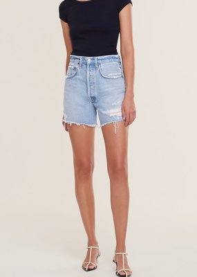 AGOLDE Riley High Rise Slim Short - Groove